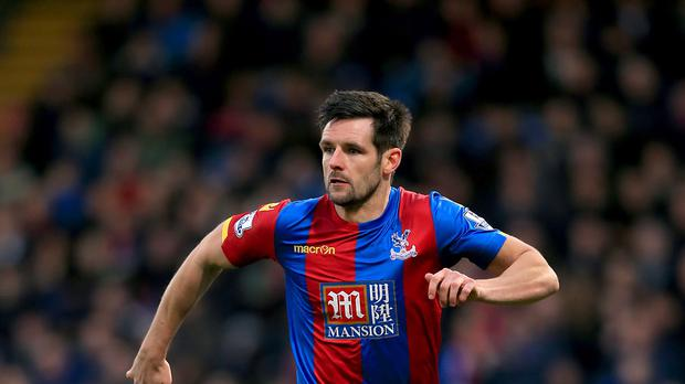 Defender Scott Dann scored for the second successive game in Crystal Palace's 1-1 draw at Swansea.