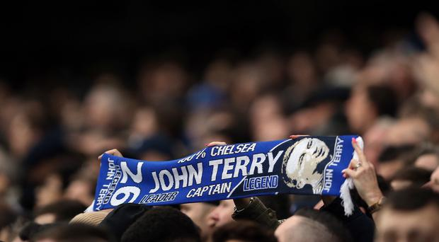 John Terry has the support of the Chelsea fans