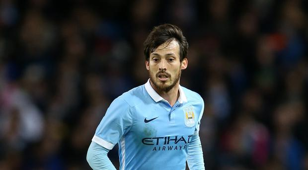 David Silva is Manchester City's latest injury concern