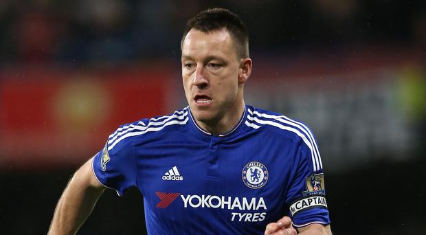 Chelsea captain John Terry is out of contract this summer