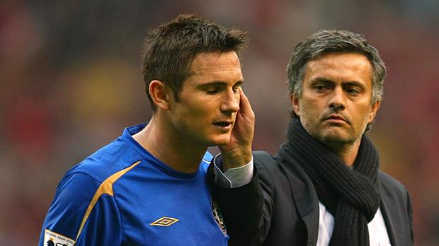 Frank Lampard (left) believes Jose Mourinho (right) would be a success as Manchester United manager, if Louis van Gaal leaves