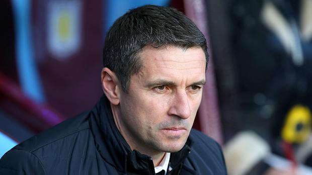"""Remi Garde was """"not completely happy"""" with Aston Villa's display against Norwich"""
