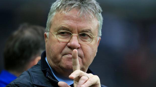 Caretaker boss Guus Hiddink maintains Chelsea can still win a trophy this season