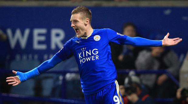Jamie Vardy is enjoying a dream season with Leicester