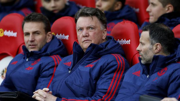 Manchester United manager Louis van Gaal is facing a fight to claim a Champions League place