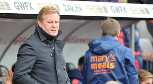 Ronald Koeman feels the in-form Saints can qualify for next season's Champions League