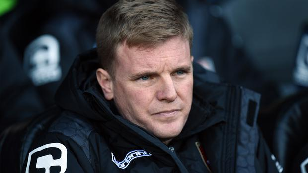 Eddie Howe's men could not take their chances against Stoke