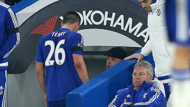 Chelsea boss Guus Hiddink will not take any chances with the fitness of John Terry.