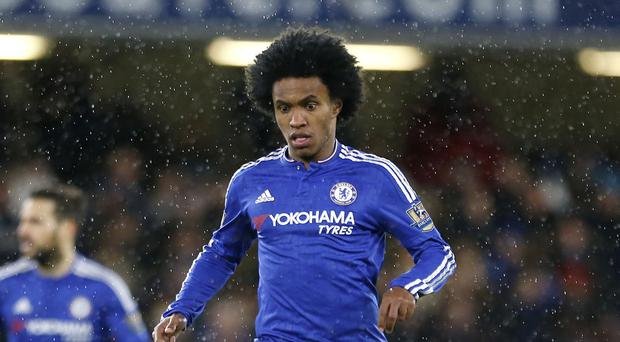 Willian says Chelsea are full of confidence ahead of the Champions League tie at Paris St Germain