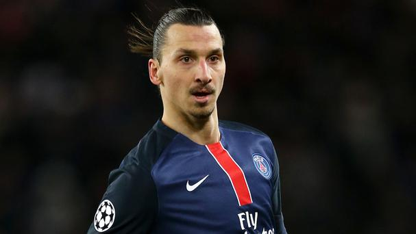 Zlatan Ibrahimovic has hinted he could be playing in the Premier League next season