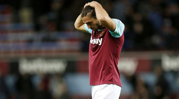 Andy Carroll had just returned from a month out with a hamstring problem when he suffered an adductor injury