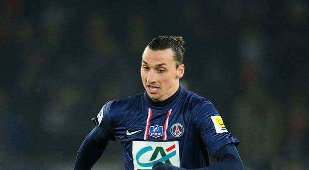 Zlatan Ibrahimovic has hinted he may move to the Barclays Premier League in the summer