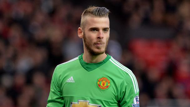 David de Gea became Manchester United's latest injury concern on Thursday