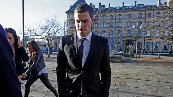 Adam Johnson has admitted to kissing a 15-year-old girl in his Range Rover on January 30