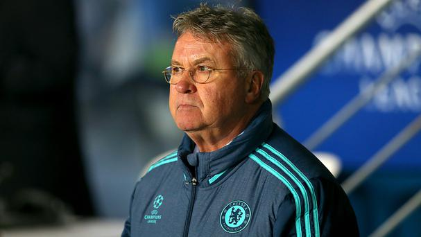Guus Hiddink's Chelsea side take on Manchester City in the FA Cup fifth round this weekend