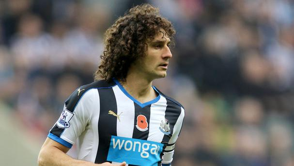 Fabricio Coloccini is reportedly facing up to a month on the sidelines with a calf problem