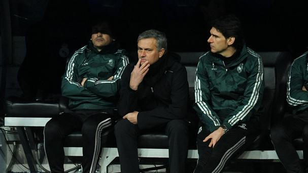 Aitor Karanka, pictured right, believes Jose Mourinho, left, will be back in management soon