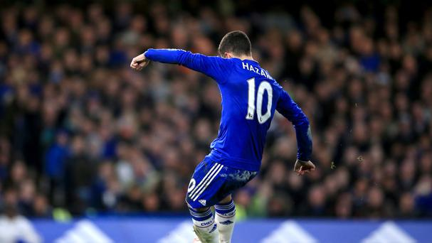 Eden Hazard scored for Chelsea in their FA Cup win over Manchester City