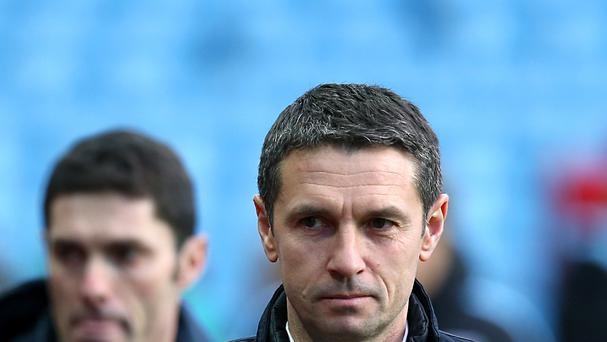 Remi Garde replaced Tim Sherwood as Aston Villa manager in November.