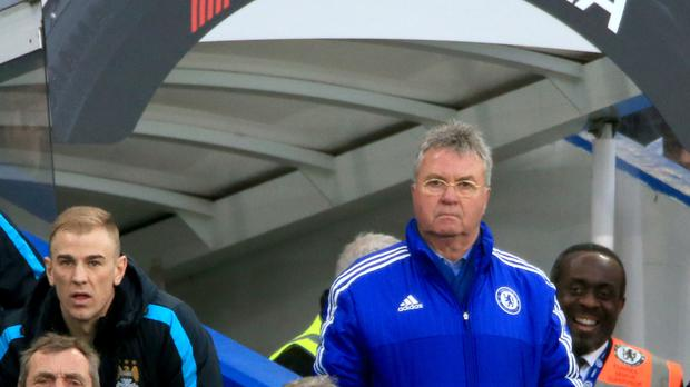 Dutchman Guus Hiddink is Chelsea's interim manager