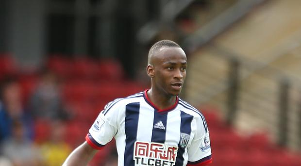 West Brom's Saido Berahino has scored six goals for the Baggies this season.