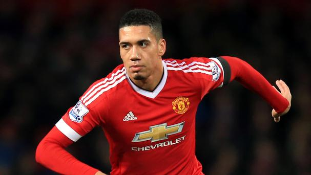 Chris Smalling is hoping to make Manchester United's clash with Arsenal