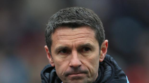 Remi Garde felt it was a lack of quality and not effort why Villa lost at Stoke
