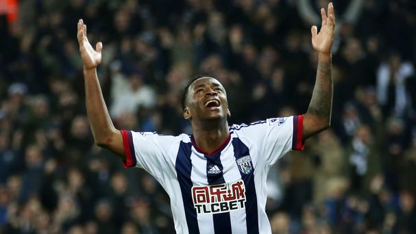 Saido Berahino scored West Brom's crucial third goal against Crystal Palace