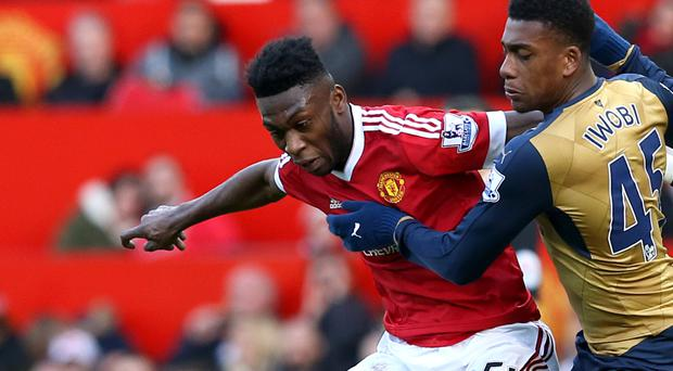 Tim Fosu-Mensah made his Manchester United bow on Sunday