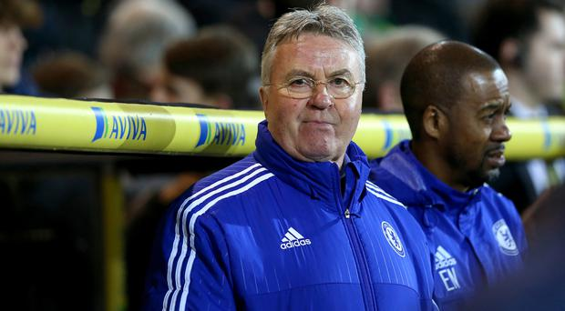 Guus Hiddink and Chelsea are now looking towards a European place