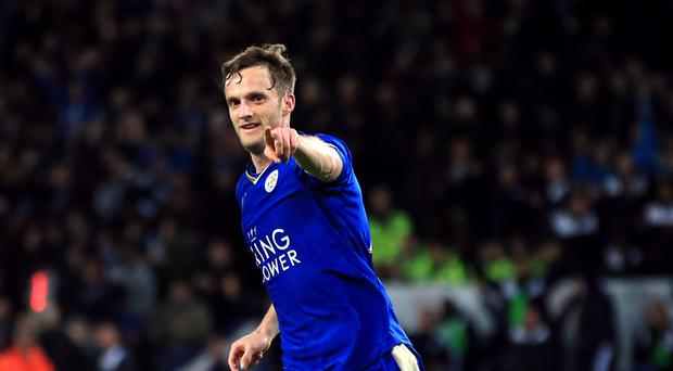 Leicester's Andy King scored his first Barclays Premier League goal in 11 months during the Foxes' 2-2 draw with West Brom