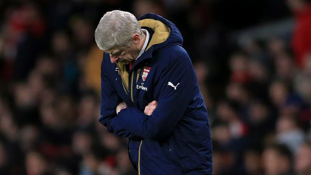 Arsenal manager Arsene Wenger was frustrated by his side's latest defeat