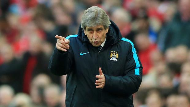 Manchester City manager Manuel Pellegrini has called for a reaction from his team after a third successive league defeat.
