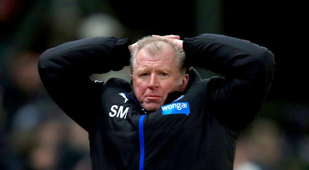 Steve McClaren expects to see out the season with Newcastle