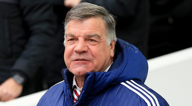 Sam Allardyce, pictured, has admitted he was