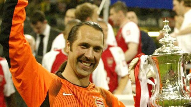 David Seaman won a host of trophies while playing for Arsenal