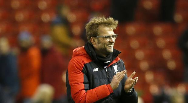 Liverpool manager Jurgen Klopp believes the top four remains within their grasp.