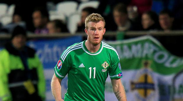 Northern Irishman Chris Brunt will miss Euro 2016