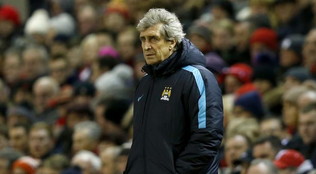 Manchester City manager Manuel Pellegrini is still focused on Premier League success despite poor form