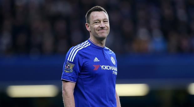 Chelsea captain John Terry is struggling with a hamstring injury.