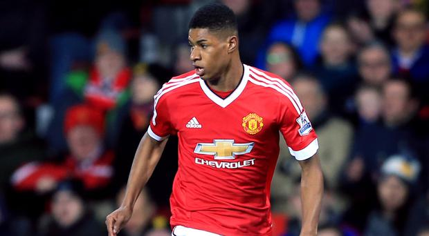 Marcus Rashford has burst onto the scene at Old Trafford