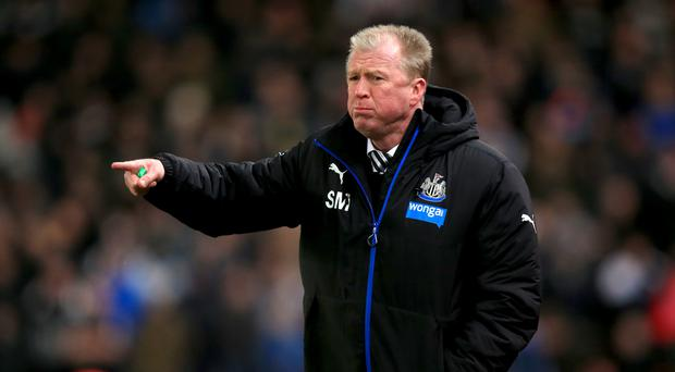 Steve McClaren was involved in a heated exchange with a reporter on Friday afternoon