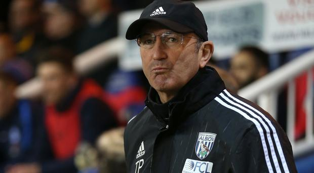 Tony Pulis wants West Brom to secure their safety before he starts thinking about other targets