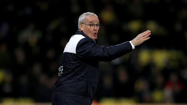 Leicester boss Claudio Ranieri expects his rivals to feel the pressure during the title run-in
