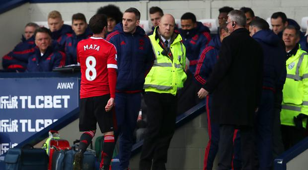 Juan Mata's first-half sending off cost Manchester United at West Brom