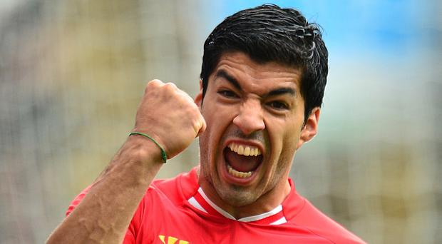 Luis Suarez scored 82 goals in his three and a half seasons with Liverpool