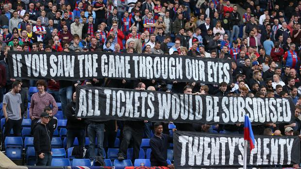 Football supporters have long campaigned for a reduction in admission prices, with the Premier League now set to cap tickets for away fans at £30.