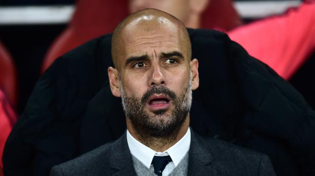 Bayern Munich's Pep Guardiola will join Manchester City at the end of the season