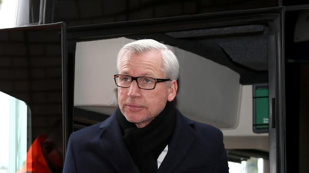 Crystal Palace manager Alan Pardew still believes Liverpool's Christian Benteke should not have been given a penalty against his team