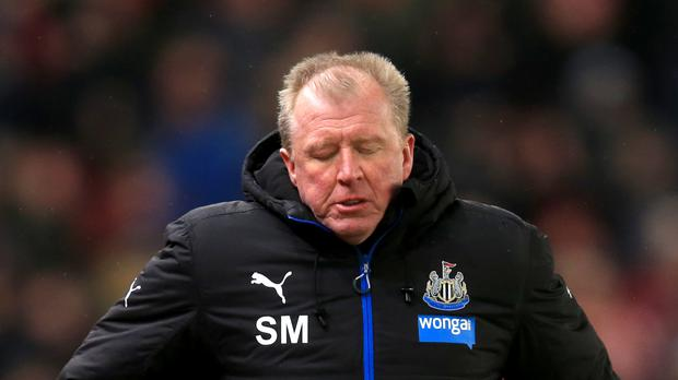 Steve McClaren was sacked by Newcastle on Friday
